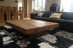 Oak Beam Coffee Table