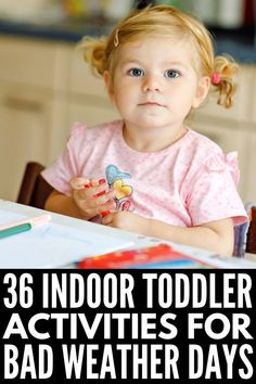 Kids climbing the walls? This collection of 36 indoor toddler activities for bad weather days will help burn off some energy and keep them happy! Indoor Activities For Toddlers, Gross Motor Activities, Party Activities, Snowy Weather, Weather Day, Bean Bag Numbers, Bean Bag Games, Kids Climbing, Sensory Bins