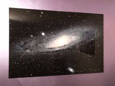 Space Photography Wall Art Andromeda Galaxy by SmallWorldPictures