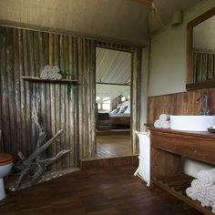 Saadani Safari Lodge, Saadani National Park, book at discounted prices! Game Reserve South Africa, Park Hotel, Amazing Bathrooms, Tanzania, Safari, National Parks, Paradise, Hotels, Design