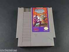 Street Fighter 2010 The Final Fight NES Nintendo Entertainment System 1990