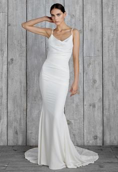 Nicole Miller 2015 Wedding Dresses Include Modern Sexy Styles for Fall   TheKnot.com