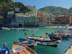 Vernazza Harbor - Vernazza, La Spezia