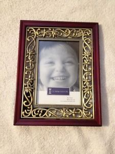 Metal And Wood Frame: 4 X 6 In. (New)