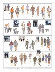 Painting People - Six Free Tip Sheets for Watercolor Wash: