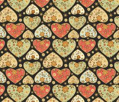 Valentines hearts fabric by dariara on Spoonflower - custom fabric  - 12 quilting, apparel and upholstery fabrics. Including silks, organic cottons and a linen blend. Non-toxic inks, eco-friendly printing. Swatches $5, 20% off 20+ yards. Instant preview, look before you buy!
