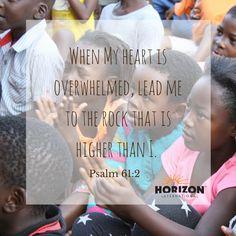 When my heart is overwhelmed....#GOSENDSPONSOR