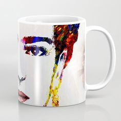 Coffee Mug Cup Drinkware Frida Kahlo 21 or digital art by L.Dumas by artbyLucie on Etsy Coffee Quotes, Coffee Mugs, Tile Coasters, Ceramic Mugs, Mug Cup, Picture Show, Drinkware, My Images, Great Gifts