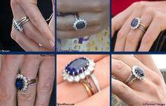 Close-ups of eternity ring