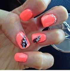 Shellac Nail Designs, Shellac Nails, Purple Manicure, Feather Nails, Paws And Claws, Insta Makeup, Makeup Junkie, Pretty Nails, Dyed Hair