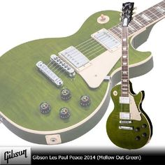Gibson Les Paul Peace 2014 (Mellow Out Green) Japanese Matcha Green! 抹茶カラーレスポール