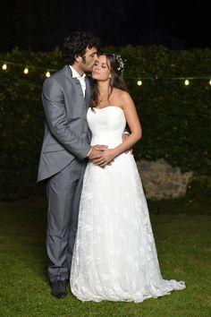 Jérôme et Clem posent pour leur mariage Lucie Lucas, Love Boyfriend, Romantic Couples, Good Movies, Spring Outfits, Lily, Photos, Celebrities, Wedding Dresses