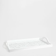 WHITE OPENWORK TRAY - Trays - Tableware | Zara Home Norway