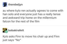 """114 Likes, 1 Comments - Joana✨ (@fishmmoonys) on Instagram: """"I can imagine Kylo siting awkwardly on a bench, trying to have a normal conversation or just…"""""""