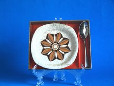 Palissy Kalabar Butter or Jam Serving Dish with by FunkyKoala