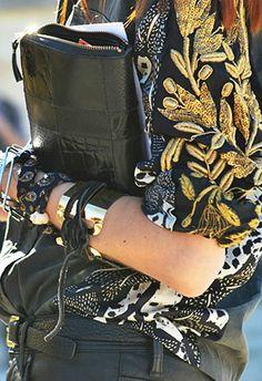 Gotta love an accessories girl. Taylor Tomasi Hill