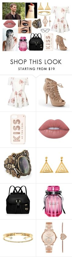 """""""You have to fall, before you can fly."""" by jblover-1fan on Polyvore featuring Episode, WithChic, Apt. 9, Kate Spade, Lime Crime, ChloBo, MICHAEL Michael Kors, Victoria's Secret, Delfina Delettrez and Michael Kors"""