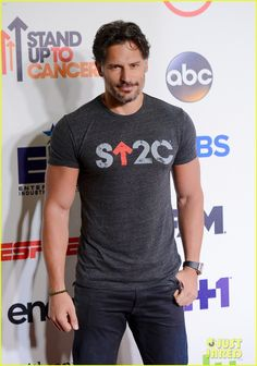 Joe Manganiello - 2014 Stand Up To Cancer telecast at Dolby Theatre on 05 Sept Cancer sucks, I am glad we are standing up to it