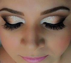 I love deep set eye creases.