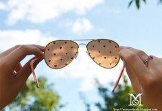 Summer DIY, cute sunglasses