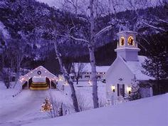 quaint and quiet at Christmas