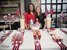 { Behind the scenes // God morgen Norge // Mai } - ToneroseDesign Constitution Day, Norway, Behind The Scenes, Barn, God, Celebrities, Spring, Table, Deco
