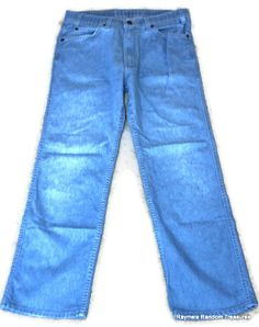 Vintage Mens Levis Jeans 34x30 LEVI Strauss Action  by RayMels, $21.95