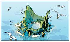 lost island by Adrianfd on deviantART