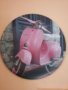 stretched canvas, Vespa, subwoofer recycling