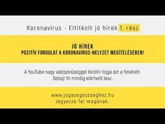Jó hírek! Pozitív fordulat a koronavírus-helyzet megítélésében - YouTube Youtube, Film, Movie, Film Stock, Cinema, Youtubers, Films, Youtube Movies