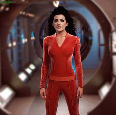 Marina Sirtis - Deanna Troi by gazomg.deviantart.com on @deviantART