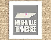 I Heart Nashville Tennessee