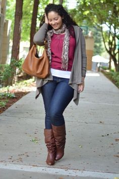 Great fall outfit!.