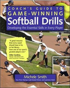 Coach's Guide to Game-Winning Softball Drills: Developing the Essential Skills in Every Player (International Marine-RMP) International Marine Publishing Softball Workouts, Softball Drills, Softball Coach, Girls Softball, Fastpitch Softball, Softball Players, Softball Stuff, Elite Softball, Softball Things