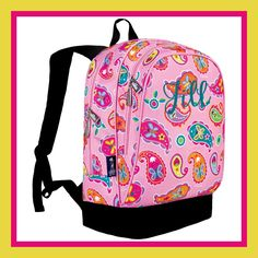 Personalized Backpack - Monogrammed - Paisley by DesignsbyDaffy on Etsy