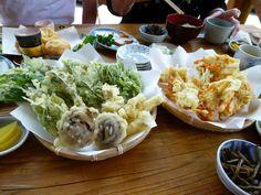 """Pranzo, """"Yamabiko"""" (Soba-Osteria), Shuzenji Shizuoka Japan (Giugno)"""