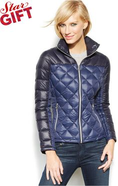MICHAEL Michael Kors Packable Quilted Down Puffer Coat on shopstyle.com