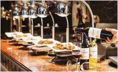 그랜드 힐튼 서울, '화요일에 만나는 무제한 와인 디너 뷔페' 선보여 Table Settings, Table Top Decorations, Place Settings, Tablescapes