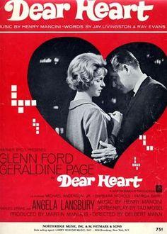 Dear Heart (1964) Glenn Ford, Geraldine Page, Angela Lansbury