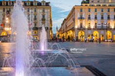 Piazza Castello by night, Turin | Torino, Italy | #stockphotos #gettyimages #print #travel