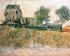 The Restaurant de la Sirene at Asnieres Vincent Van Gogh Reproduction | 1st Art Gallery