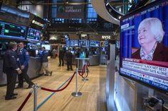 Wall Street fecha em queda com declaração de Janet Yellen - http://po.st/PW5Ssd  #Destaques - #Eua, #FED, #Juros, #Nova-York