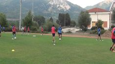 Pre season trainings... technical warm up ...18