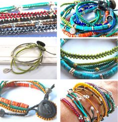 DIY Braided Bead Jewelry - DIY Gift World