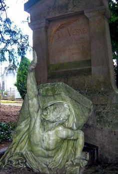 Jules Verne   Birth:  Feb. 8, 1828   Death:  Mar. 24, 1905     Burial:  La Madeleine Cemetery   Amiens  Picardie Region, France