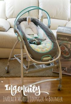 Baby Must Haves: Ingenuity InReach Mobile Lounger and Bouncer