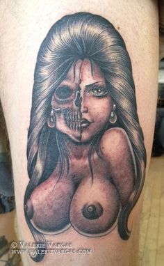 Pictures of some amazing tattoos! I Tattoo, Cool Tattoos, Half Skull, Picture Tattoos, Videos, Ink, Face, Pictures, Image Search