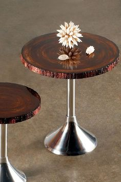 Statements By J Tall Hunter Side Table