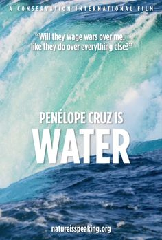 Climate of places: 3/5. This short narrative with the voice of Penelope Cruz speaks about the necessity of water. This can be used to encourage students to reflect and discuss how humans can contribute to climate change in a class brain storming activity. What is water trying to tell us humans? GE2-1, GE2-2, GE2-3, ACHGK017