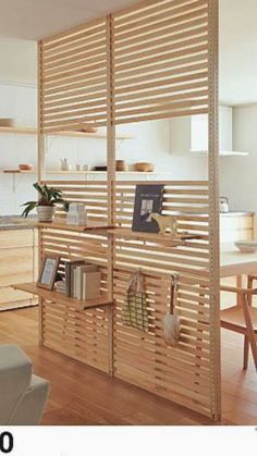 Estilo e modernidade nesta criativa divisória de ambientes em madeira natural / Style and modernity in this creative natural wood room partition / Es… – Renovation – definition of renovation by The Free Dictionary
